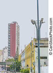 Urban View of Guayaquil Architecture - Urban scene of modern...