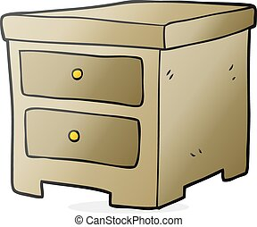 cartoon chest of drawers