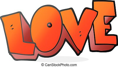 cartoon love symbol - freehand drawn cartoon love symbol