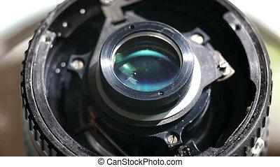 camera lens detail macro