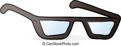 cartoon spectacles - freehand drawn cartoon spectacles