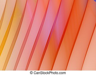 Orange stripes. Abstract background