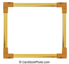 wood frame - wood picture frame to put your own pictures in....