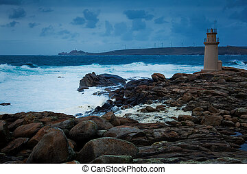 Lighthouse of Muxia,La Corua, Galicia, Spain