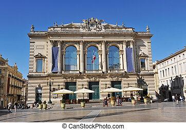 Op?ra, Montpellier - Opera, place de la Com?die, City of...