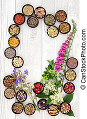 Naturopathic Medicine - Naturopathic flower and herb...
