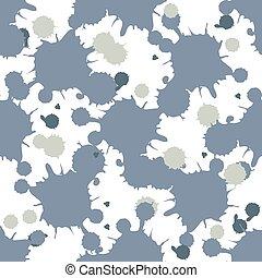 Blue blobs seamless