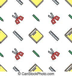 Crisp Stationery Pattern - Crisp stationery pattern for your...