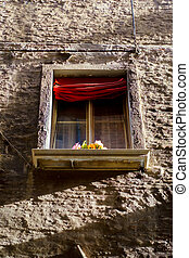 romantic windows - romantic window on historic palace in...
