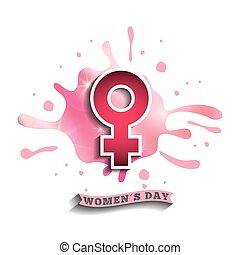 happy womens day design - happy womens day design, vector...