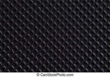 Black Checkered background, Dark plastic Surface Backdrop