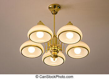 Ceiling lamp for interior decoration