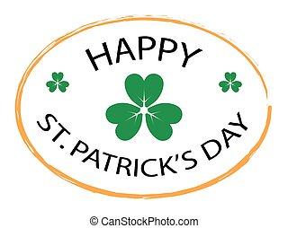 Happy St. Patrick's Day stamp 2