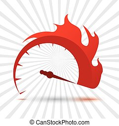 speed icon design