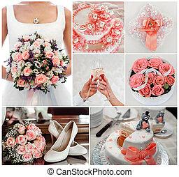 相片, 集合, 婚禮