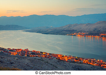 Croatia, Pag Island Very popular destination among tourists