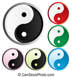Tao - Asian symbol of opposites - the Tao of different...