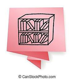 Doodle Bookcase