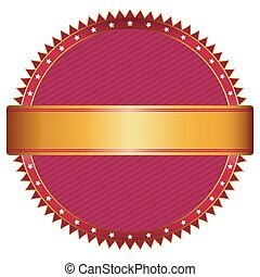 Red and gold seal.