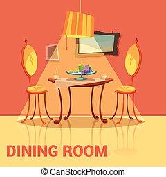Dining Room Retro Design