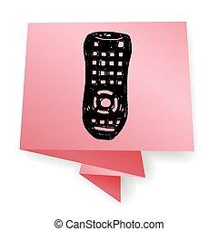 remote control doodle