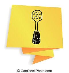 spatula doodle