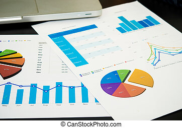 Business accounting charts