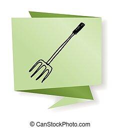 fork doodle