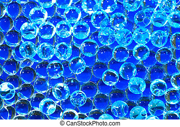 Blue Balls Background - Abstract background made from lot of...