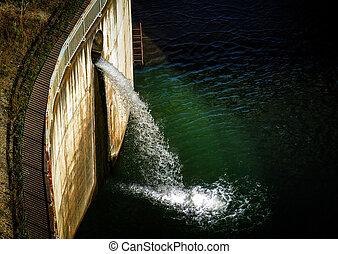 Vatten, röret,