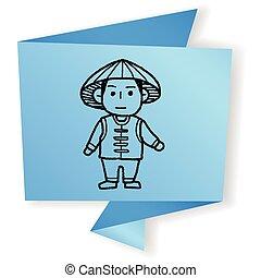 Vietnamese doodle
