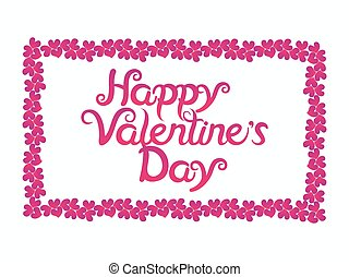 abstract artistic valentine day background vector...