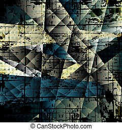 dark abstract geometric background vector illustration