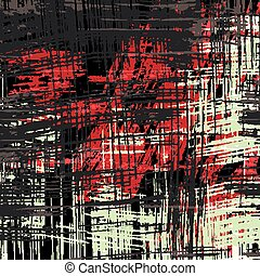 white black red line Graffiti abstract background