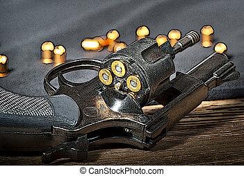 pistolet ręczny, Ilustracja