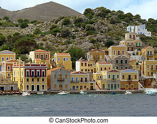View of Simi island - Simi Island Greece