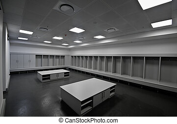Soccer City stadium changing room, johannesburg - South...