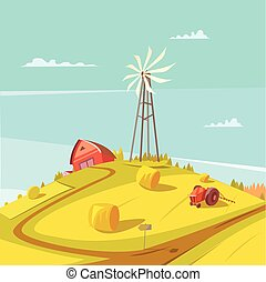 Farming And Agriculture Background