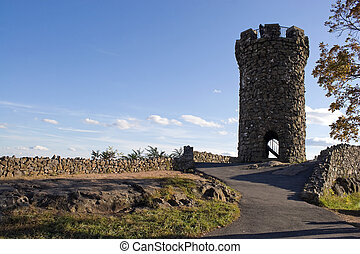 Castle Craig Tower - The historic New England Castle Craig...