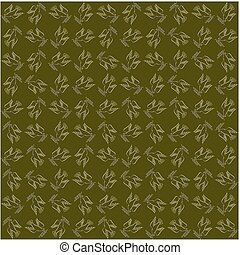 Peaceful conceptual pattern - Golden dove of peace against...
