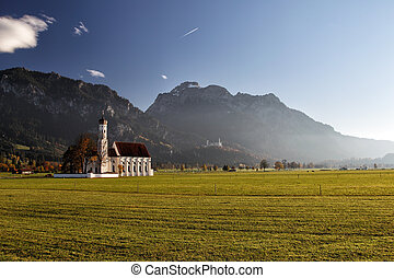 St. Coloman near Schwangau - The well-known church St....