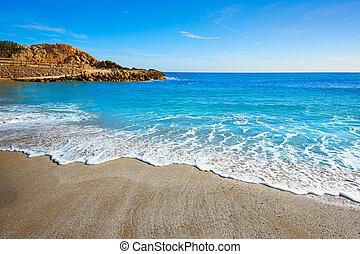 Cullera Platja del Far beach Playa del Faro Valencia -...