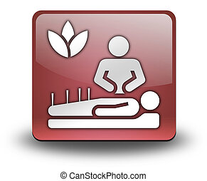 Icon, Button, Pictogram Alternative Medicine - Icon, Button,...
