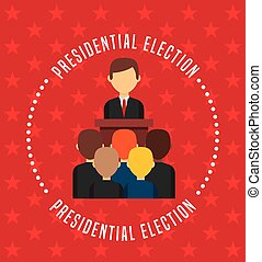 government elections design, vector illustration eps10...