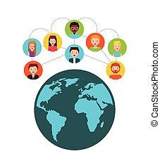 social media design - social media design, vector...