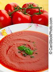 Soup close up