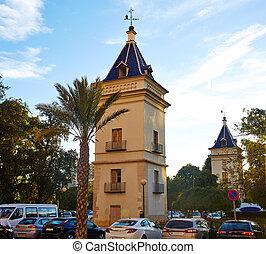 Valencia La Alameda San Felipe tower Spain - Valencia La...