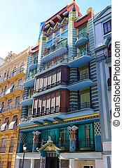 Valencia Casa Judia house Egyptian Castello street -...
