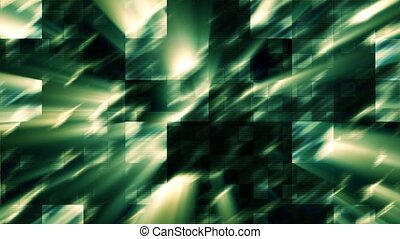 Shining Dark Green Background - Loopable Shining Dark Green...