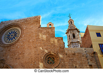 Valencia Santa Catalina church in Spain - Valencia Santa...